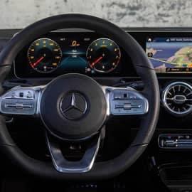 Wheel of Mercedes Benz