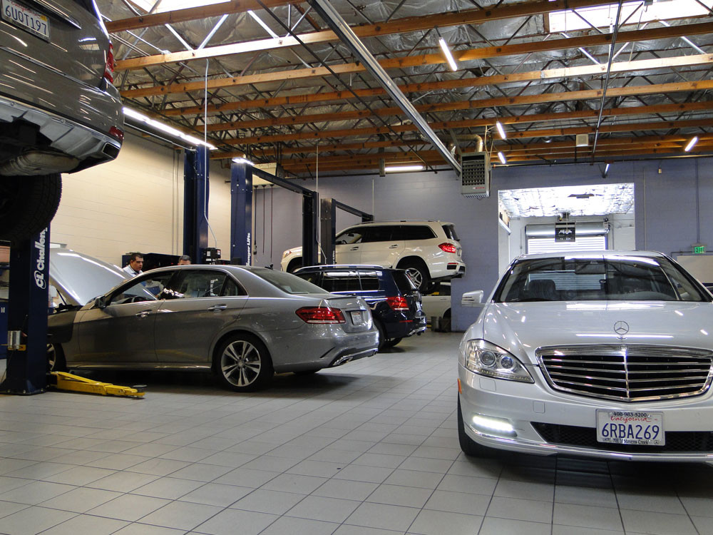 Mercedes benz certified service and parts in fremont for Mercedes benz repair fremont ca