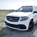 White Mercedes Benz