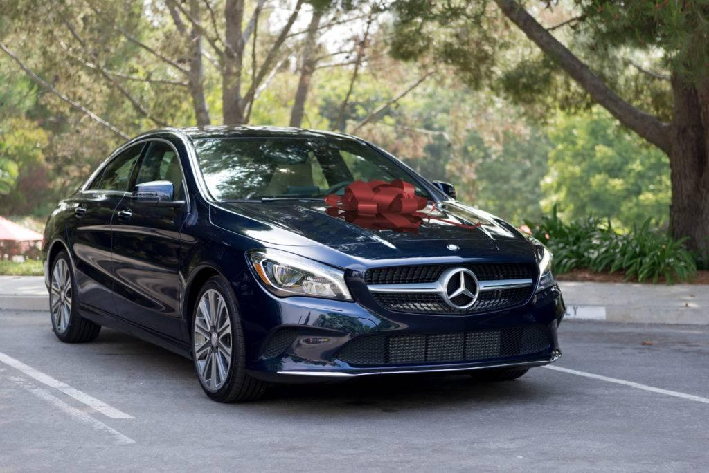 C-Class with a Bow