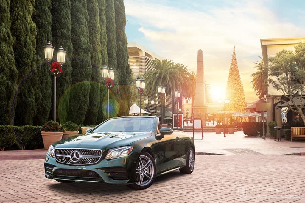 Emerald Green 2018 E 400 Cabriolet