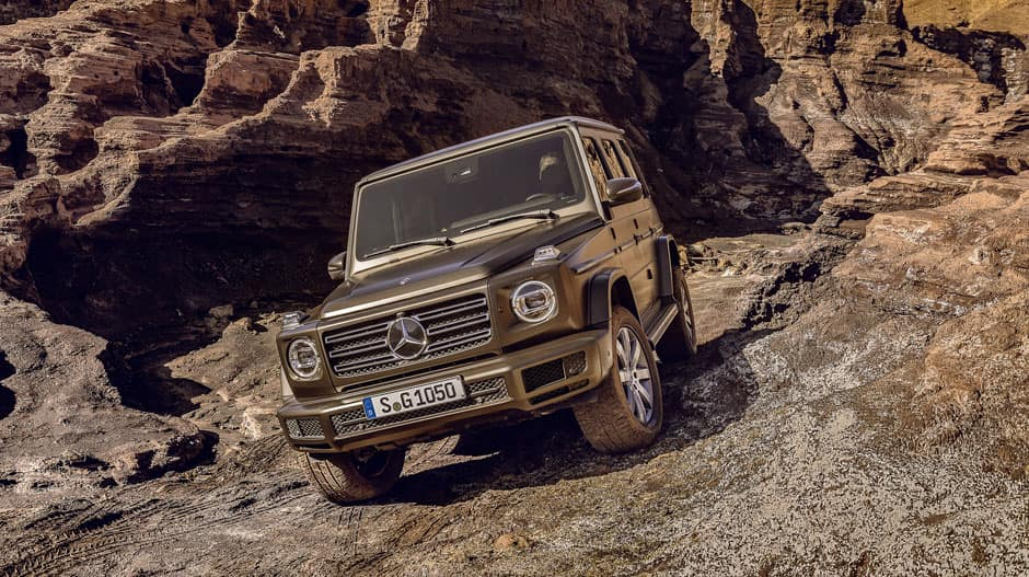 Awaiting The 2019 Mercedes Benz G Class Arrival Fletcher Jones