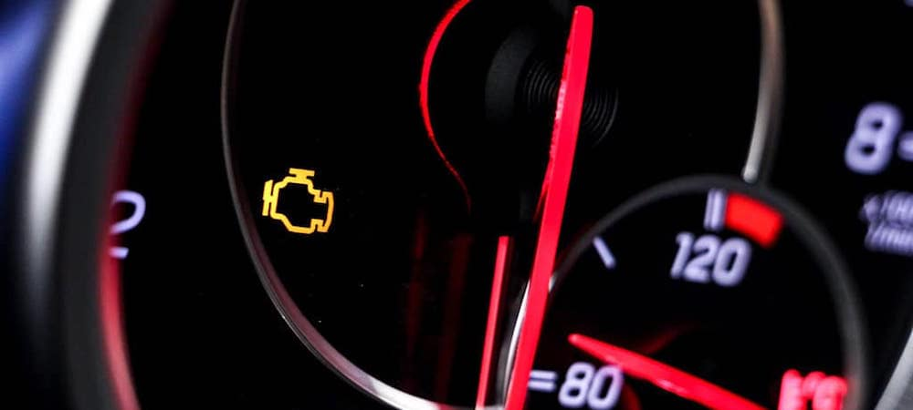 Check engine light came on on dashboard cluster