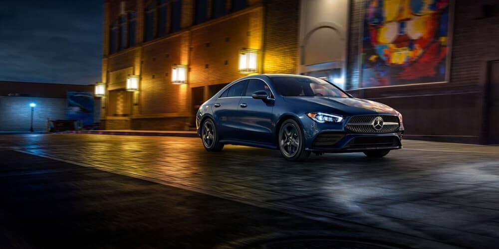 2020 Mercedes-Benz CLA Coupe exterior