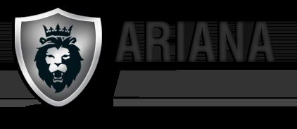 Ariana Auto Body Logo