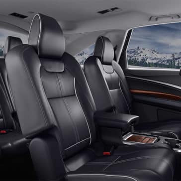2018 Acura MDX Advance Pkg Ebony Interior