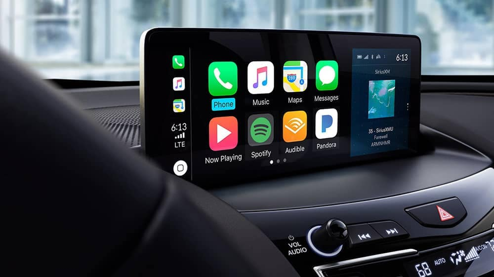 2019 Acura RDX technology display