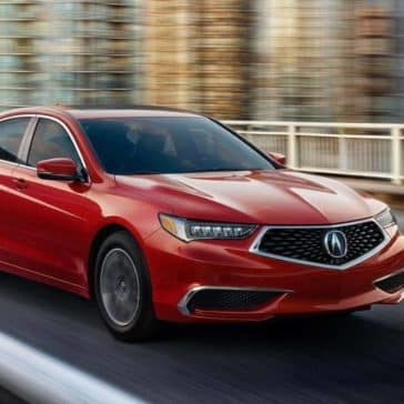 2019 Acura TLX in Milano Red