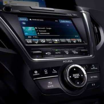 2019 Acura MDX technology display