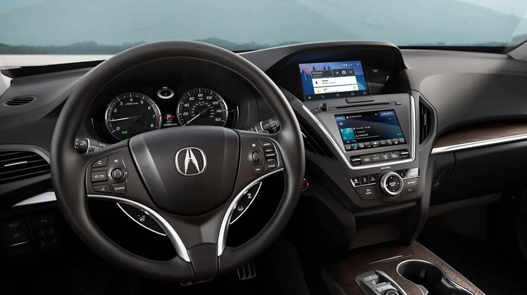 2019 Acura MDX dashboard view