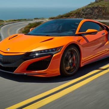 2019 Acura NSX Driving