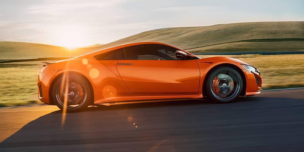 2019 Acura NSX Side