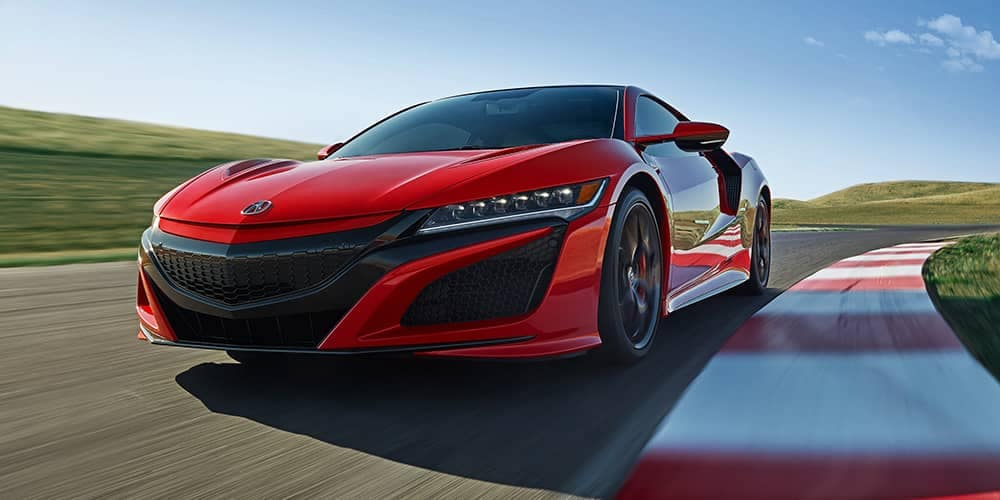 2019 Acura NSX On Track