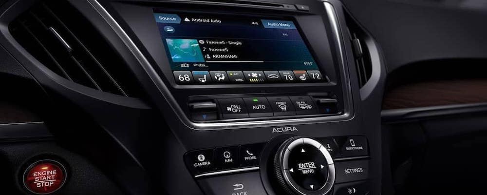 2019 Acura MDX Technology Display