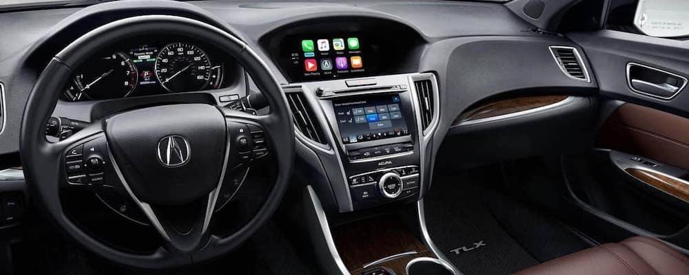 2019 Acura TLX SH AWD interior dashboard