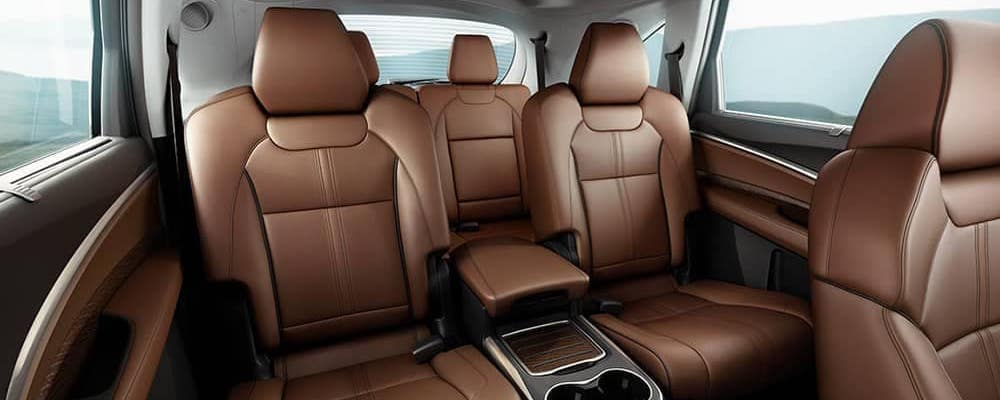 Leather seats inside 2020 Acura MDX