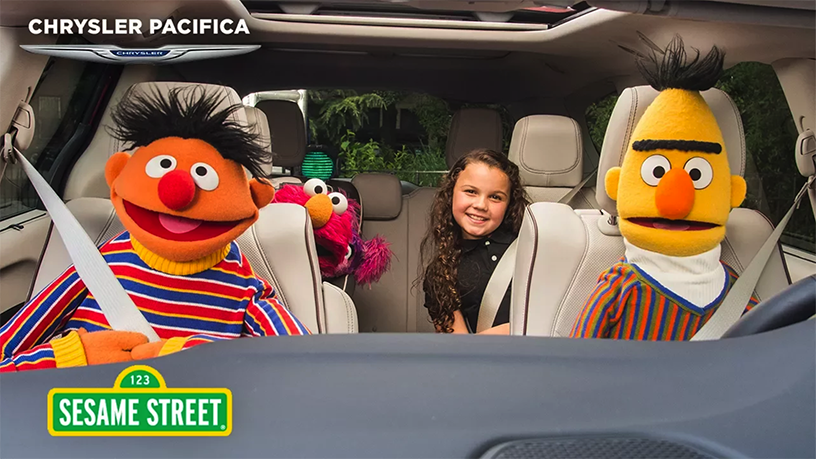 Garber Auto Mall >> Chrysler is Now a 'Sesame Street' Sponsor - Garber Automall
