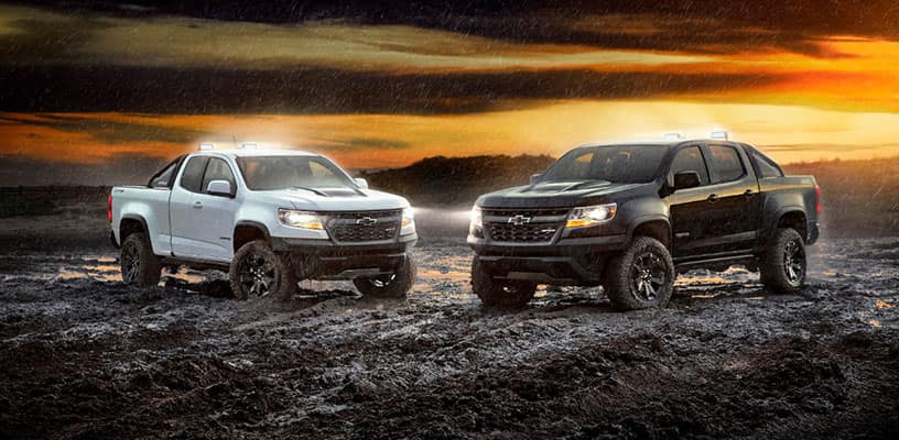 The 2018 Chevy Colorado Expands Lineup Zr2 Midnight And Dusk Editions Garber Automall