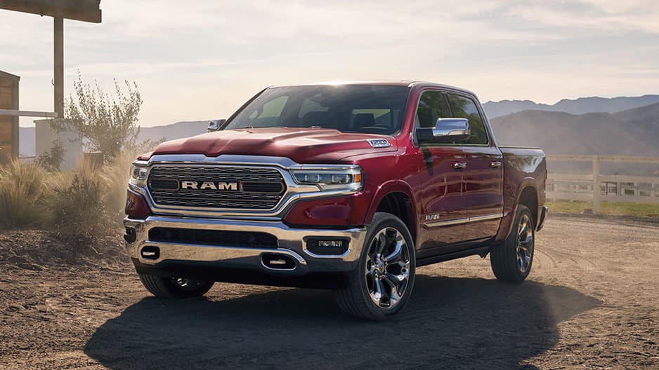 Exterior Features of the All New Ram 1500 at Garber in Orange Park, FL