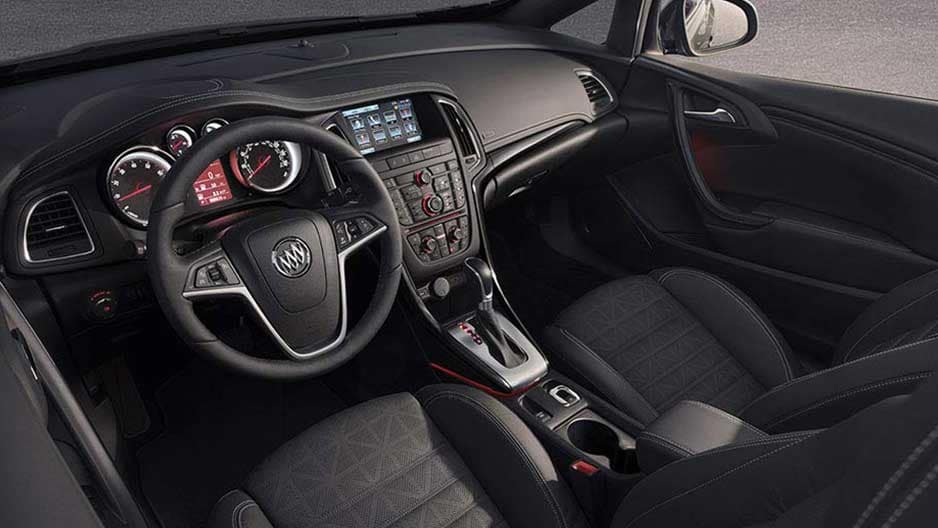 Interior Features of the New Buick Cascada at Garber in Orange-Park, FL