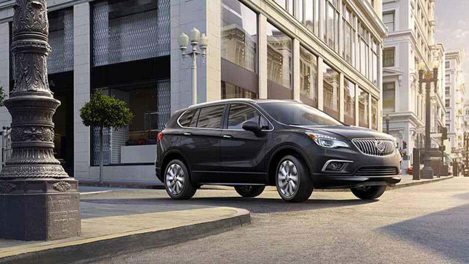 Exterior Features of the New Buick Envision at Garber in Orange-Park, FL