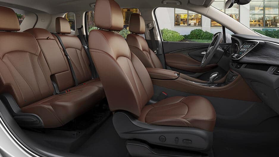 Interior Features of the New Buick Envision at Garber in Orange-Park, FL