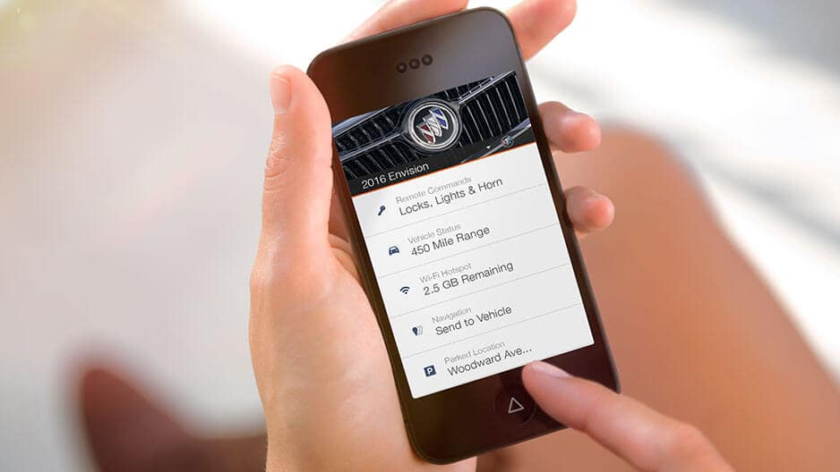 Technology Features of the New Buick Envision at Garber in Jacksonville, FL