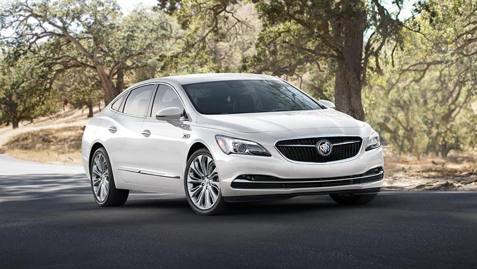Exterior Features of the New Buick LaCrosse at Garber in Orange-Park, FL