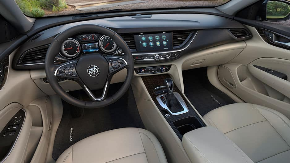 Interior Features of the New Buick Regal Sportback at Garber in Orange Park, FL