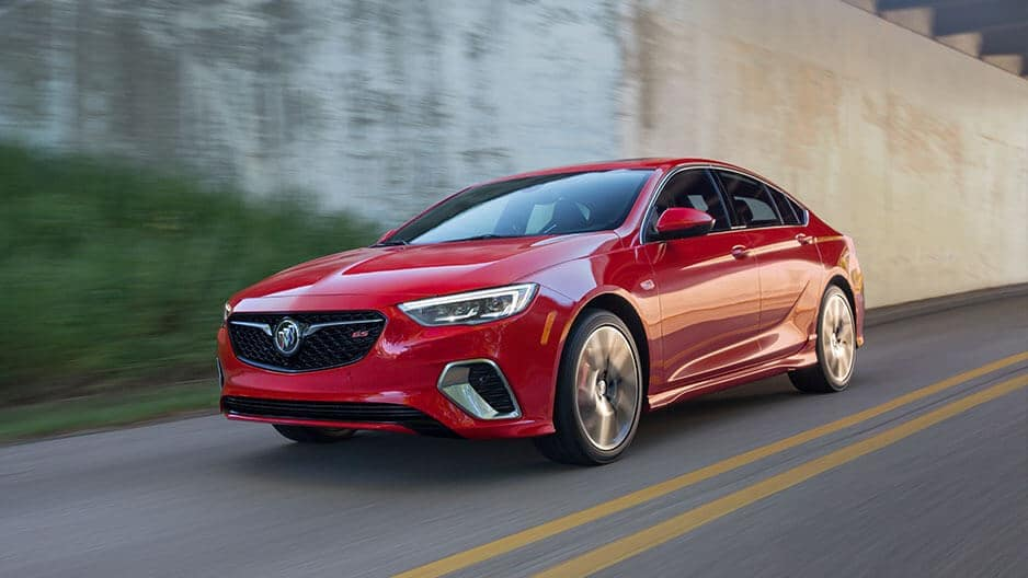 Performance Features of the New Buick Regal Sportback at Garber in Jacksonville, FL
