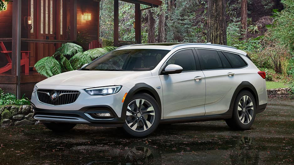 Exterior Features of the New Buick Regal TourX at Garber in Orange Park, FL