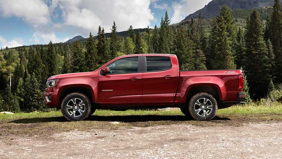 Exterior Features of the New Chevrolet Colorado at Garber in Orange-Park, FL