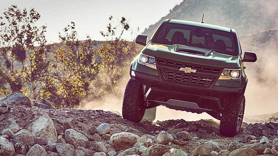 Performance Features of the New Chevrolet Colorado at Garber in Jacksonville, FL