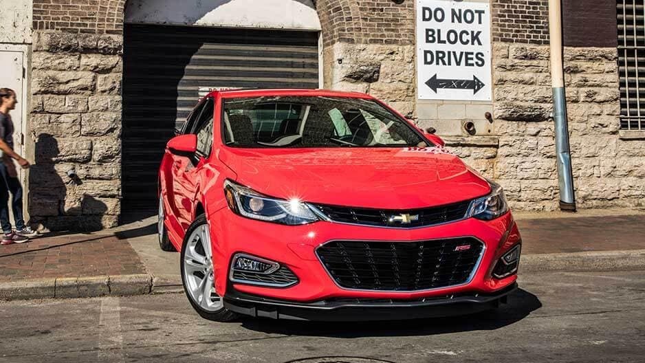 Exterior Features of the New Chevrolet Cruze at Garber in Orange-Park, FL