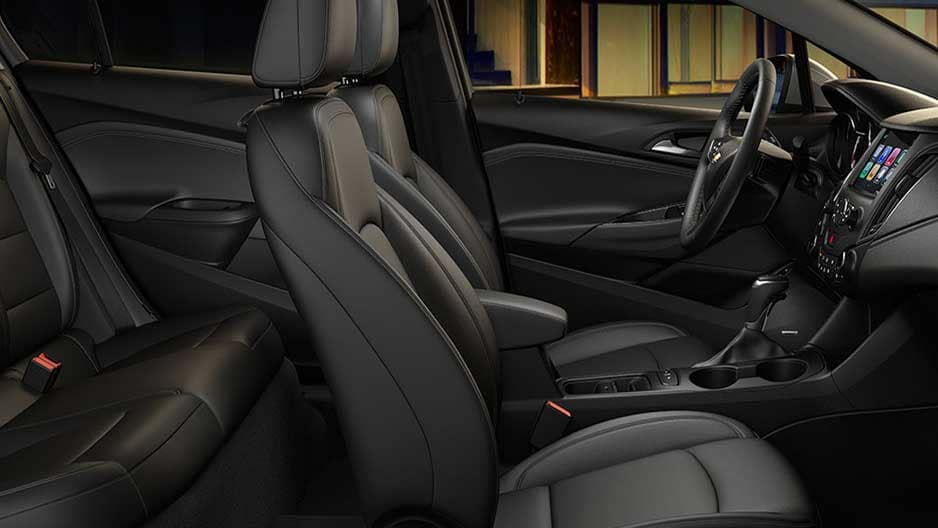 Interior Features of the New Chevrolet Cruze at Garber in Orange-Park, FL