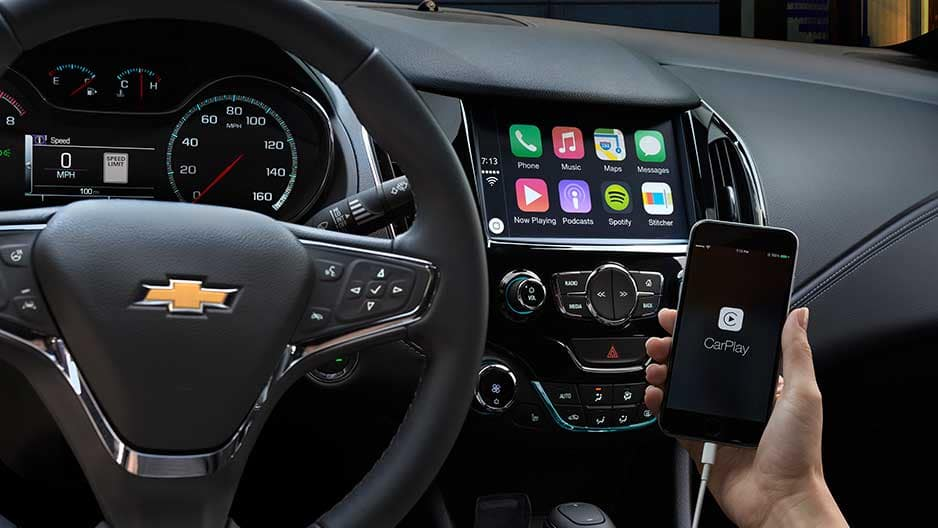 Technology Features of the New Chevrolet Cruze at Garber in Jacksonville, FL