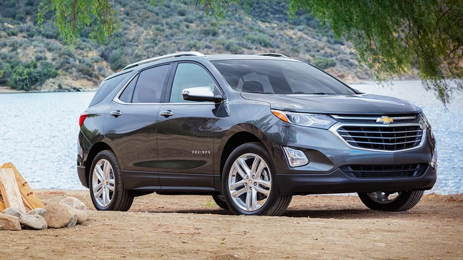 Exterior Features of the New Chevrolet Equinox at Garber in Orange-Park, FL