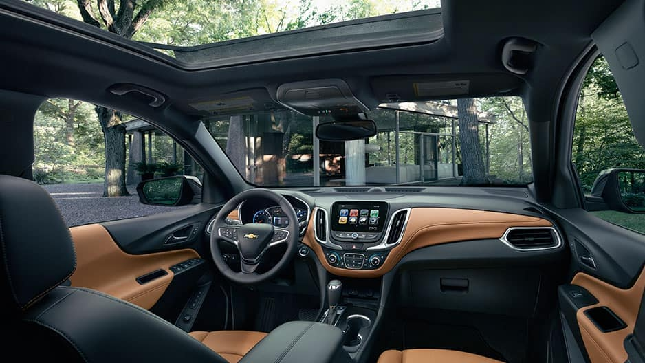 Interior Features of the New Chevrolet Equinox at Garber in Orange-Park, FL