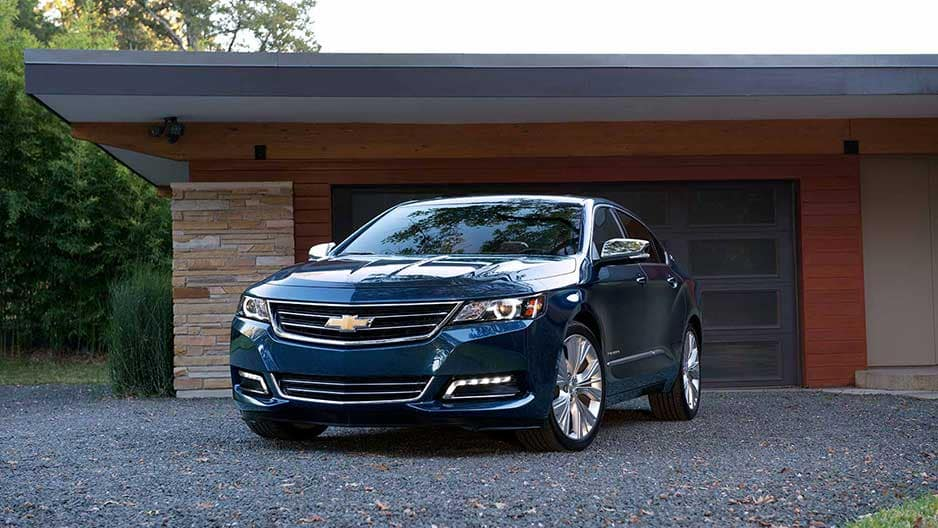 Exterior Features of the New Chevrolet Impala at Garber in Orange-Park, FL
