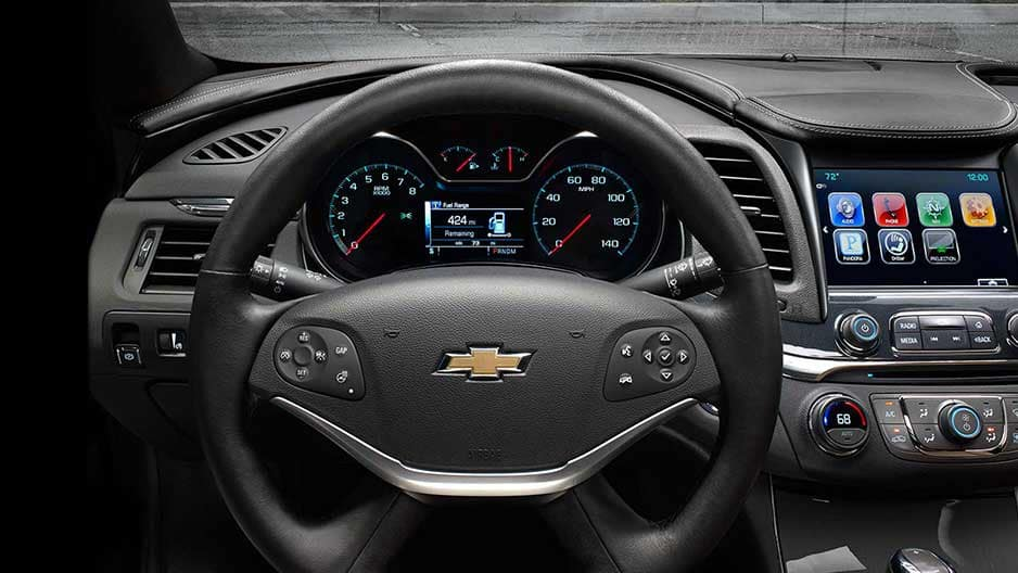 Safety Features of the New Chevrolet Impala at Garber in Jacksonville, FL