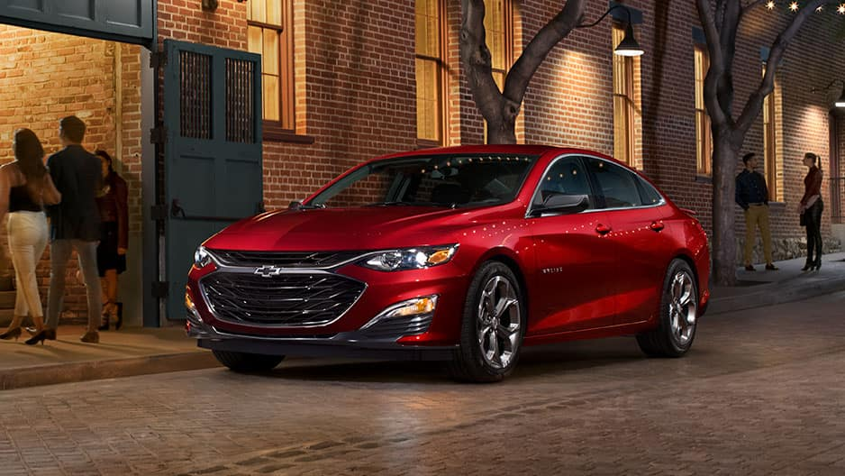 Exterior Features of the New Chevrolet Malibu at Garber in Orange Park, FL