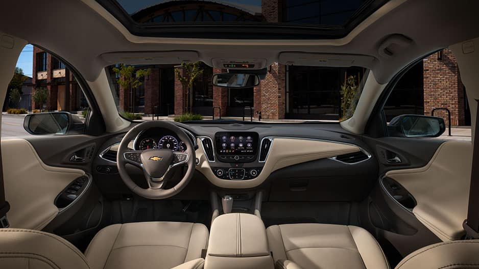 Interior Features of the New Chevrolet Malibu at Garber in Orange Park, FL