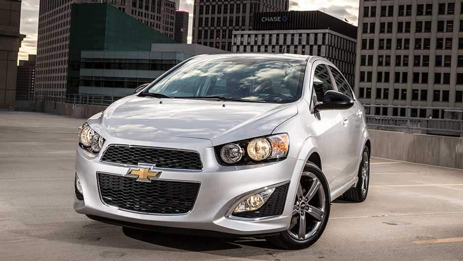 Exterior Features of the New Chevrolet Sonic at Garber in Orange-Park, FL