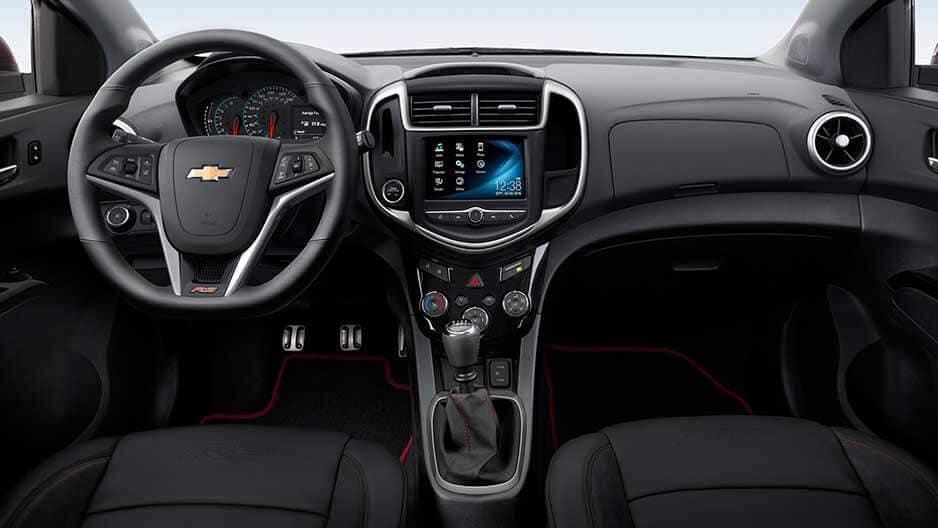 Interior Features of the New Chevrolet Sonic at Garber in Orange-Park, FL