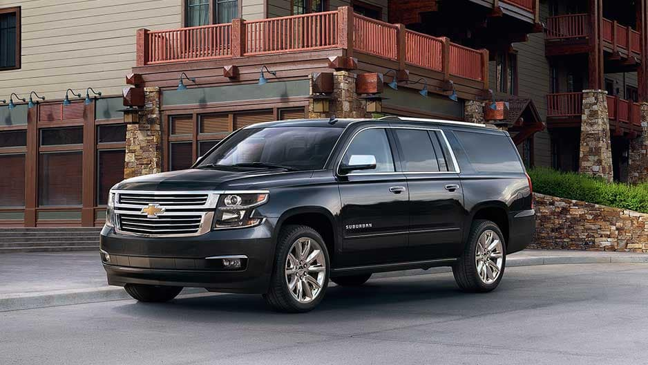 Exterior Features of the New Chevrolet Suburban at Garber in Orange-Park, FL