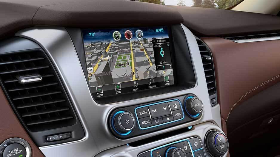 Technology Features of the New Chevrolet Suburban at Garber in Jacksonville, FL