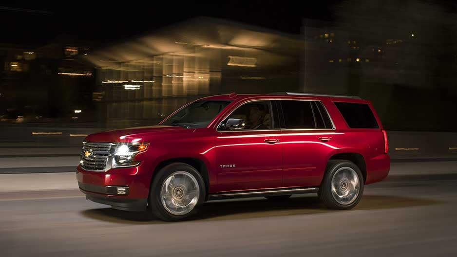 Performance Features of the New Chevrolet Tahoe at Garber in Jacksonville, FL