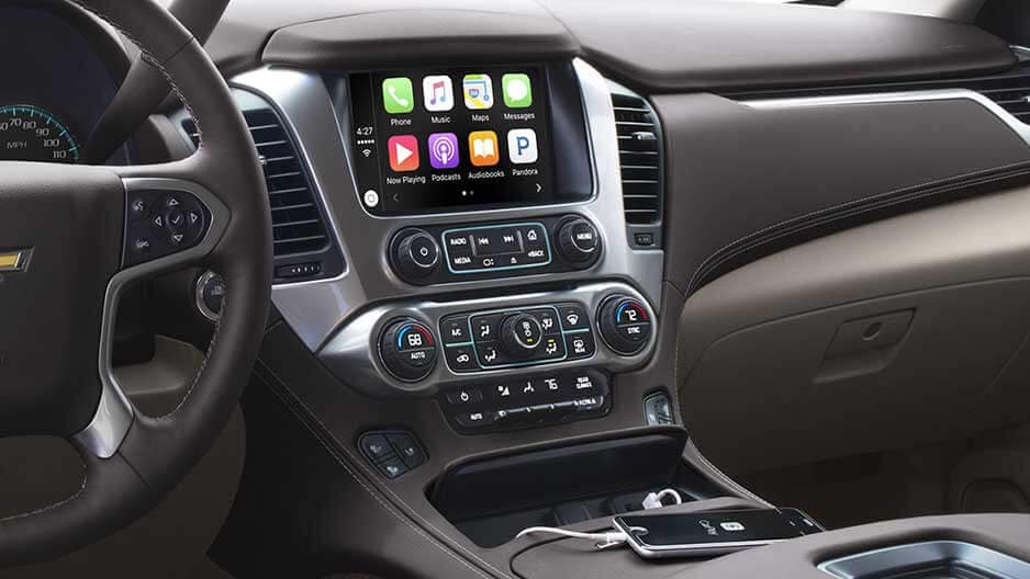 Technology Features of the New Chevrolet Tahoe at Garber in Jacksonville, FL