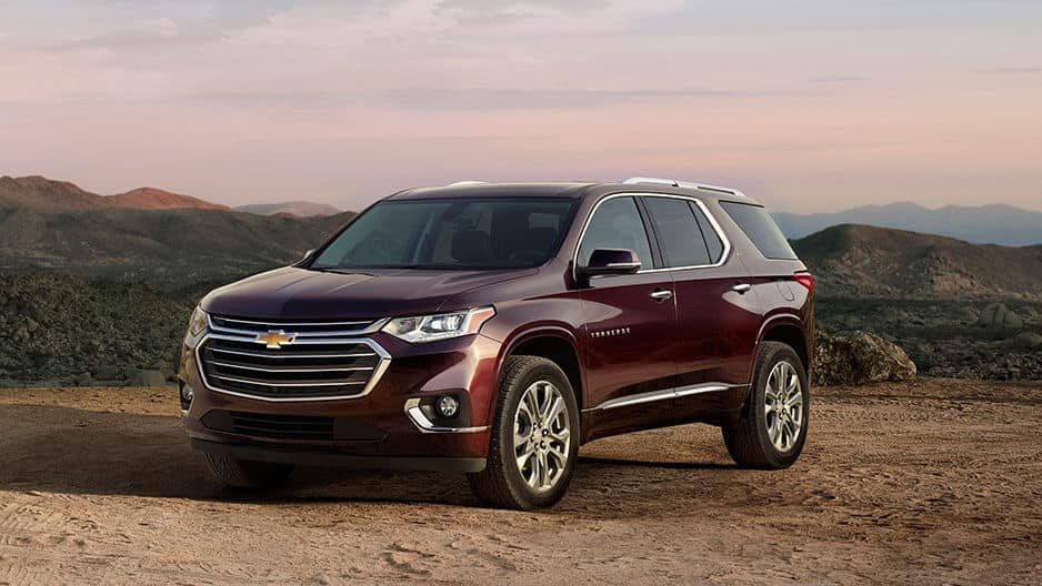 Exterior Features of the New Chevrolet Traverse at Garber in Orange-Park, FL