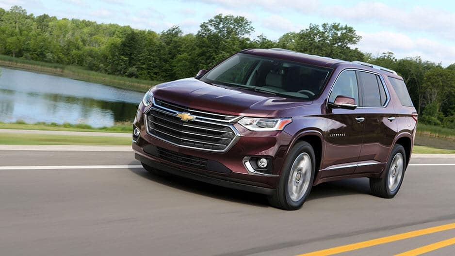 Performance Features of the New Chevrolet Traverse at Garber in Jacksonville, FL